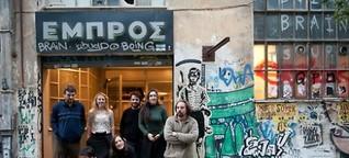 Die Athener Kulturoase Embros vor dem Aus