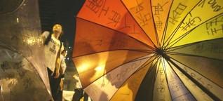Hongkong und seine Regenschirm-Revolution