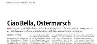 Ciao Bella, Ostermarsch