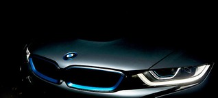 BMW i8: die GQ-Nachtfahrt - Mission is possible