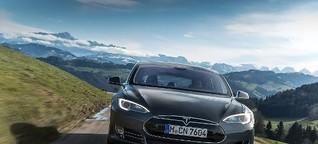 Tesla: Das Elektro-Auto aus Feldkirchen - Abendzeitung München