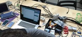 Schluss mit Rasenmahrobotern und Akkuschraubern Bosch veranstaltet seinen ersten Hackathon