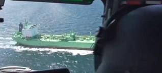 "Auf ""Öl-Patrouille"""