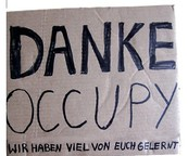 Danke Occupy. Wir haben viel von Euch gelernt. Konzept.