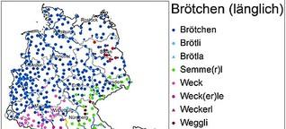 Atlas zur deutschen Alltagssprache: Brötchen oder Schrippe? Servus oder Moin?