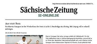Aue statt Rom: Porträt Ex-Nationalspieler Marvin Compper bei RB Leipzig