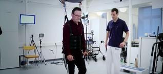 VJ-Reportage über Seilroboter für Patienten mit Rückenmarksverletzungen, NZZ-Online, Nov. 2013