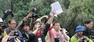 """Medienkrise in Taiwan: """"Schützt die Meinungsfreiheit!"""""""