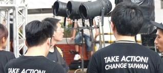 """Wahlen in Taiwan - """"Die Demokratie sind wir!"""""""