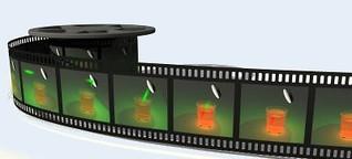 Hochgeschwindigkeitskamera filmt Lichtpulse