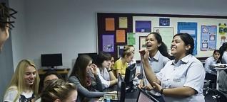 Das deutsch-indische Klassenzimmer