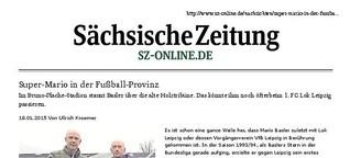 Mario Basler bei Lok Leipzig: Super-Mario in der Fußball-Provinz