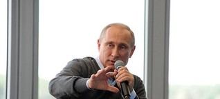"""Putin im Original: """"Wir sind ein Volk"""""""