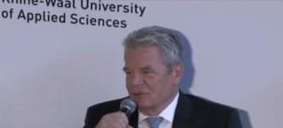 KuK-Ma: Bundespräsident Joachim Gauck zu Gast in Kleve