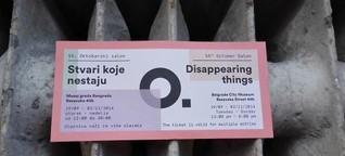 "Woran werden wir uns erinnern? - ""Disappearing Things"" in Belgrad"