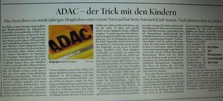 ADAC - der Trick mit den Kindern