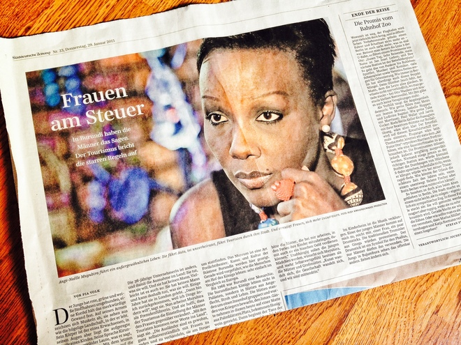 Burundi: Frauen am Steuer