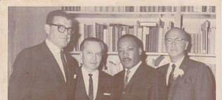 Hearing Martin Luther King, Jr. at Temple Israel of Hollywood