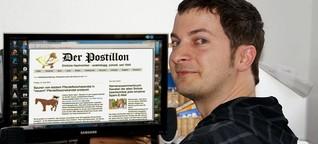 """""""Der Postillon"""": Geld verdienen mit Galgenhumor"""