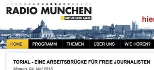 Radio München- Interview über torial