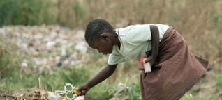 Wie Mary und ihre Kinder aus Simbabwe entkamen