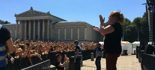 Gebärdensprache bei Konzerten: Sierra Kidd ohne Sound