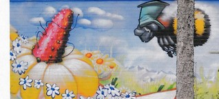Bilder mit Borsten - Graffiti-Künstler Seak