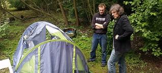 Übergriff auf Obdachlose: Wer hat Manoles Zelt zerstört?