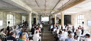 Tech Open Air Berlin: So gechillt netzwerkt die Start-Up-Szene