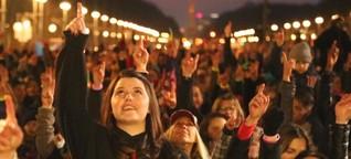 Die Welt tanzt gegen Gewalt an Frauen