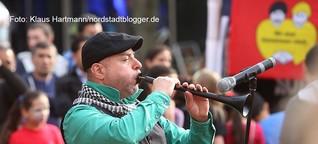 Gelungenes Fest zum 70. Jahrestag der Befreiung von der Nazi-Diktatur auf der Münsterstraße in der Nordstadt
