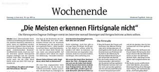Die meisten erkennen die Flirtsignale nicht / Mindener Tageblatt