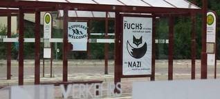 Antirassismus hinter Glas