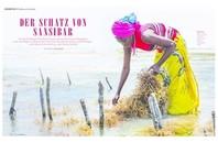 Seaweed Farmerinnen auf Sansibar
