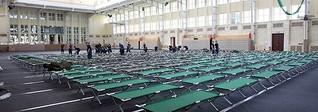 Turnhalle der Uni Leipzig ist jetzt Flüchtlingsunterkunft | MDR.DE
