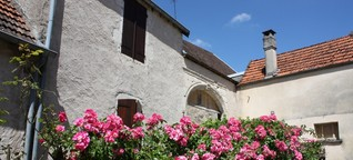 Dörfer der Saone in der Franche Comté genießen