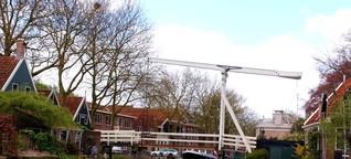 Drei attraktive Dörfer im Norden von Holland - von Käse, Holzschuhen und Kanälen