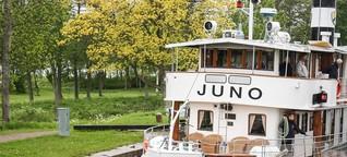Götakanal mit der Juno - der Weg ist das Ziel