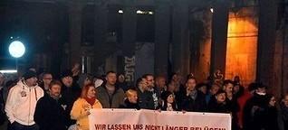 Rechter Aufmarsch in Oranienburg: Späte Anzeige: Polizisten übersehen Hitlergruß