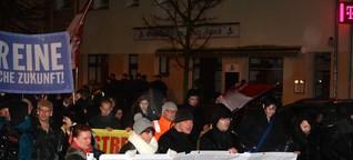 """""""Abendspaziergang"""" in Oranienburg: 200 Asylgegner marschieren in Oranienburg - kaum Gegenprotest - Nachrichten aus Brandenburg und Berlin"""