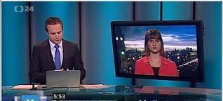 Live im tschechischen Fernsehen zur Position Deutschlands in der Griechenland-Krise