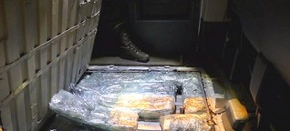 Rauschgiftschmugglerbande festgenommen – 15 Kilogramm Marihuana im Gepäck
