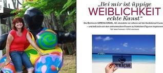 Aussteigerin Serena Israel lebt auf Curacao, Porträt für Myway