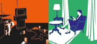 Zu Unrecht verurteilt : Glanzlicht vs. Schlusslicht, Teil 1: die Kriminalstatistik
