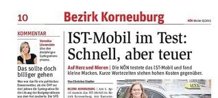 IST-Mobil im Test