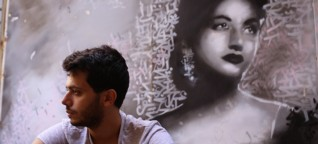 """They Call Him The """"Banksy of Beirut"""""""
