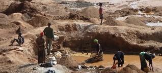 Gewinne auf Kosten der Kinder. Kinderarbeit im kongolesischen Bergbau