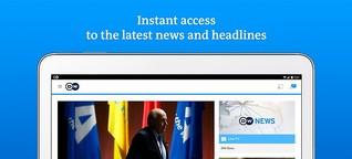 Beiträge für die Deutsche Welle (Englisch)