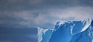 Zukunftsprognose für schmelzende Gletscher