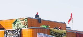 Antifa besetzt leeres TU-Gebäude für Flüchtlinge